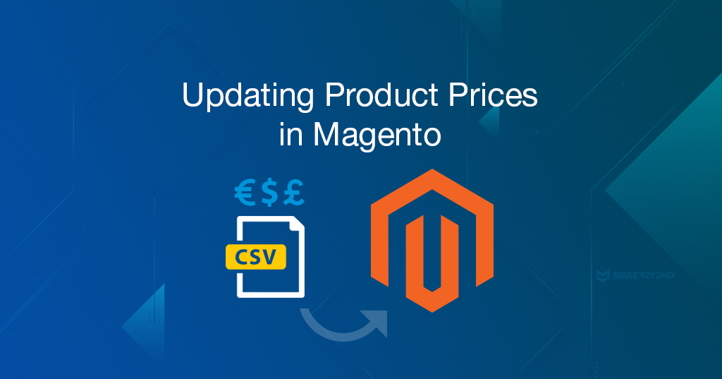 Updating product prices in Magento