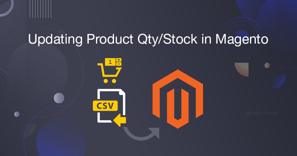 Updating product qty/stock in Magento