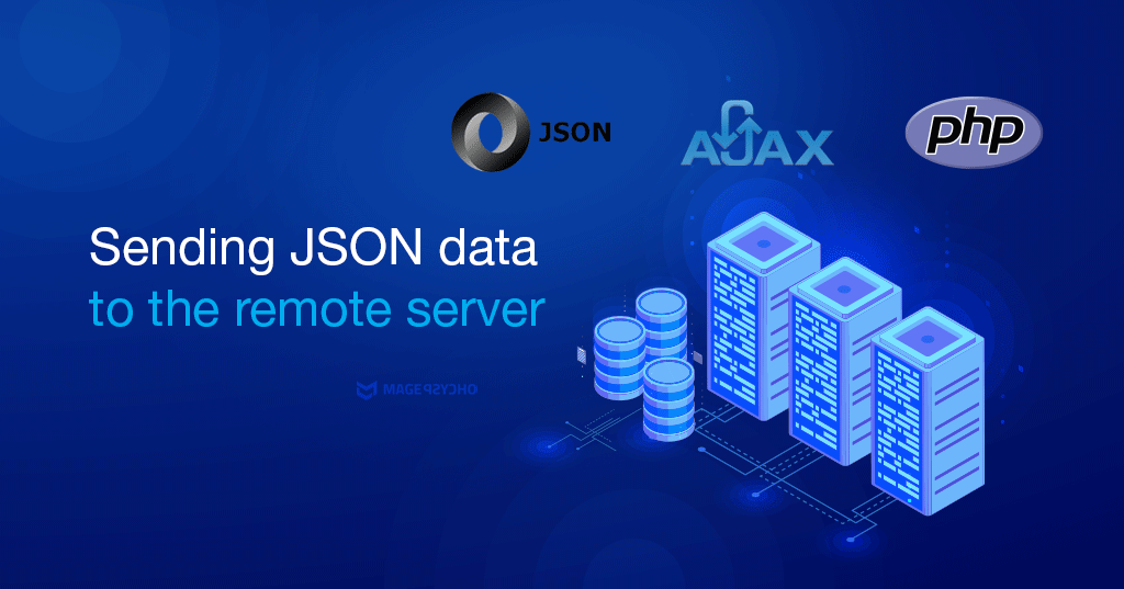 Sending JSON data to the remote server