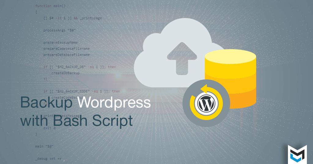 Backup WordPress Code + Database