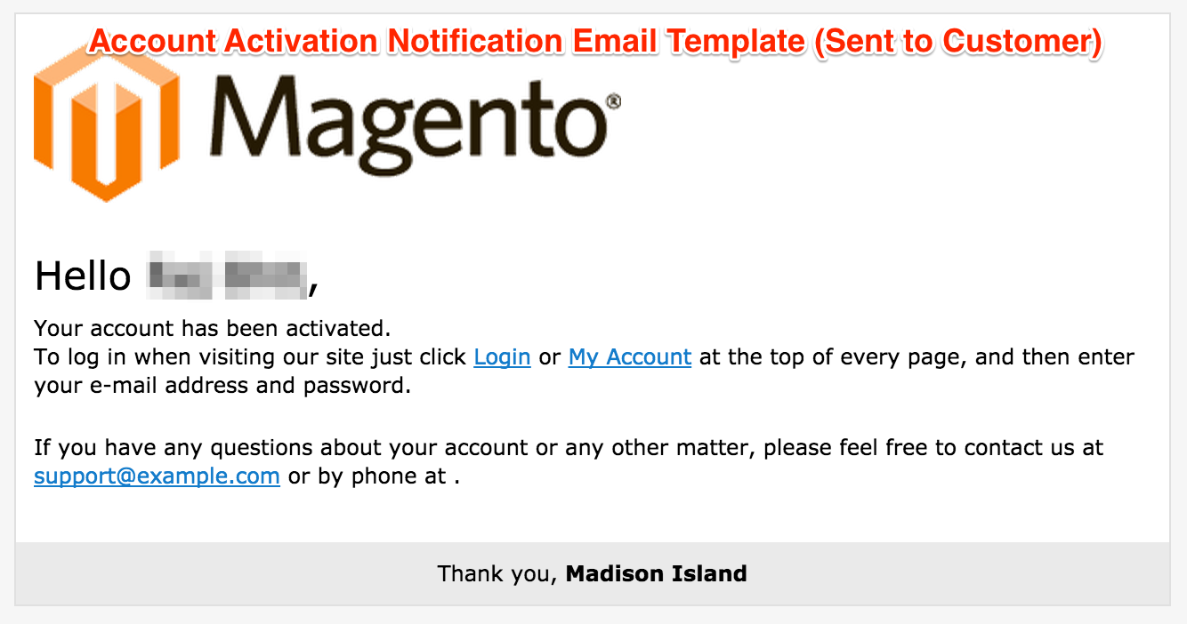 Store restriction pro v1 0 0 disable registration for Customer support email template