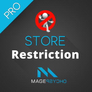 Store Restriction Pro - Magento Extension