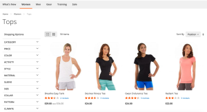 Magento 2 - Category Page