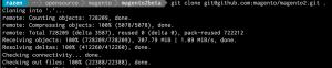Git Clone Magento2