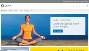 Magento 2 - Homepage