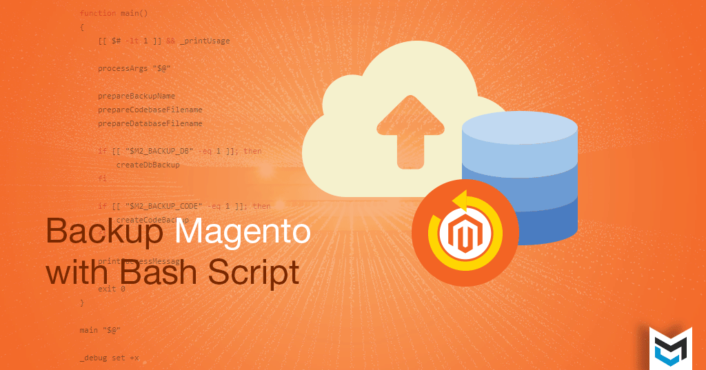 Magento 2 Backup with Bash/Shell Script